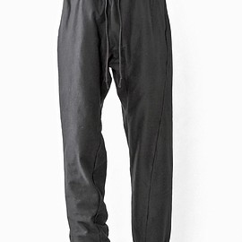 SIVA - PNT-CAS / DOUBLE JERSEY TWISTED PANTS