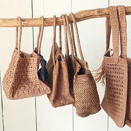 MAISON N.H PARIS - raffia baskets カゴバッグ