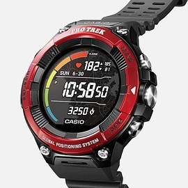 CASIO - Pro Trek (WSD-F21HR) - Black/Metallic Red
