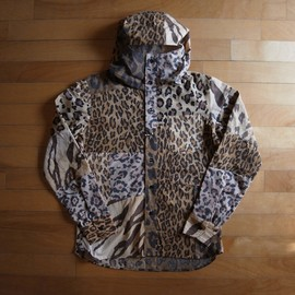 Old Park - LEOPARD HOODED SHIRTS