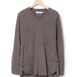 nonnative - DRIFTER PULLOVER SHIRT - COTTON TYPEWRITER