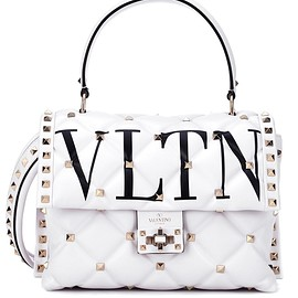 Valentino - Valentino Garavani VLTN Rockstud leather shoulder bag