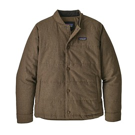patagonia - M's Recycled Wool Bomber Jacket, Bristle Brown (BTBR)