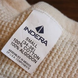 INDERA MILLS  - THERMAL  L/S  TEE
