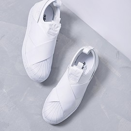 adidas - SUPERSTAR SlipOn white