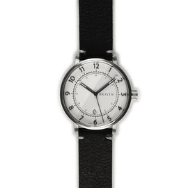 Bravur - Stainless steel - White dial