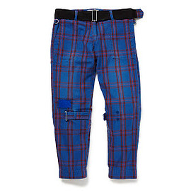 PEEL&LIFT - tartan damaged bondage trousers color : elliot tartan