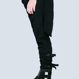 long clothing - Long X Orphanage Clip Pants (Black)