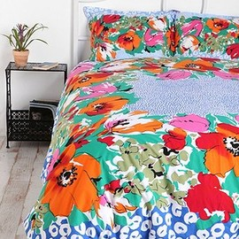 URBAN OUTFITTERS - Floral Dot Scarf Duvet Cover