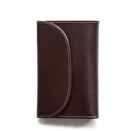 Whitehouse Cox - S7660 3FOLD WALLET / BRIDLE × ANTIQUE BRIDLE LEATHER