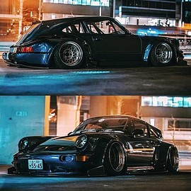 Porsche - 911 RWB Hatch Extension
