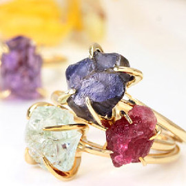Bizoux - Color Gold Ring - La peaunue