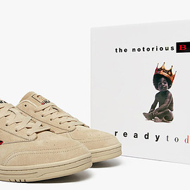 FILA, Notorious B.I.G., Christopher Wallace Memorial Foundation - Tennis 88 (Ready To Die 25th) - Cream/Black/Red