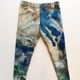 POPUPSHOP - LEGGING w print EARTH