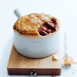 Donna Hay - beef, tomato and mushroom pot pies