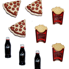 Dress It Up - Pizza/Fries/Soda - 3597