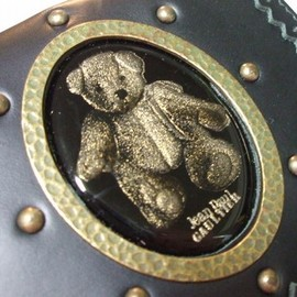 "Jean Paul GAULTIER - Cameo""Teddy Bear"" leather Wallet"