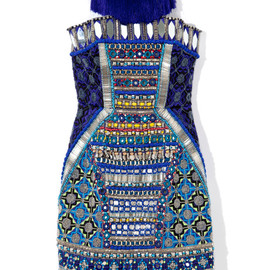 Matthew Williamson - Embroidered Corset Dress