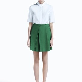 COS - green skirt
