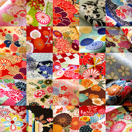 Japanese designs for fabric.