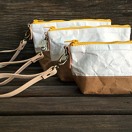 BelltaStudio - Cospack : Tyvek and Kraft paper bag