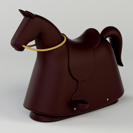 marc newson - rocky the rocking horse by marc newson for magis
