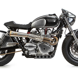 Triumph - Bonneville cafe racer from Tamarit