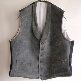 LILY1ST VINTAGE - 1920-1930's french wool vest