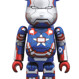 MEDICOM TOY - BE@RBRICK IRON PATRIOT