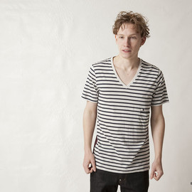 FACTOTUM - COMBINATION V-NECK S/S