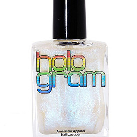 American Apparel - Hologram Nail Polish