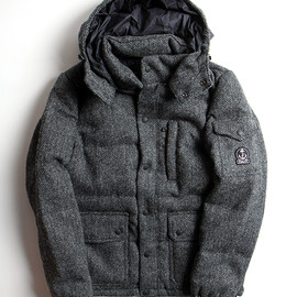 FIDELITY - HARRIS TWEED DOWN JACKET