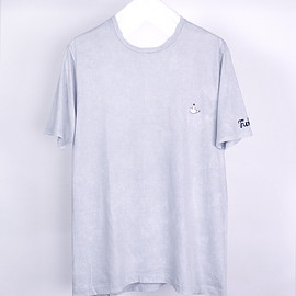 NADA. - Embroidery tee / Light gray