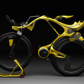 Edward Kim & Benny Cemoli Design - The INgSoc bicycle