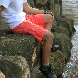 BLUE LUG - *BLUE LUG* overdyed bike cargo shorts (pink)