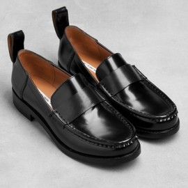 & other stories - Low-heel leather loafers
