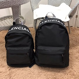 Balenciaga - Balenciaga Wheel Small Backpack In Black