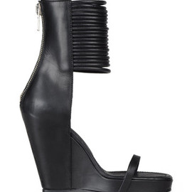 Rick Owens - wedge sole