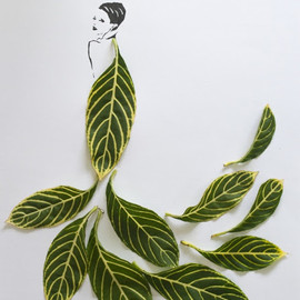 Tang Chiew Ling - Fashion in Leaves