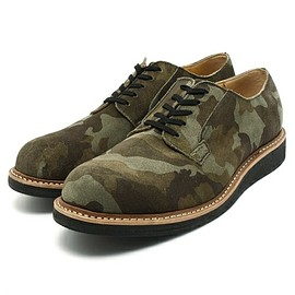 LABORER SHOES - POSTOMAN OXFORD CAMO