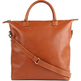 WANT LES ESSENTIELS DE LA VIE - WANT LES ESSENTIELS O'Hare leather tote bag (Cognac