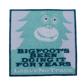 Leave No Trace - Bigfoot Patch