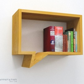 LAUdesign - bookshelf annotation