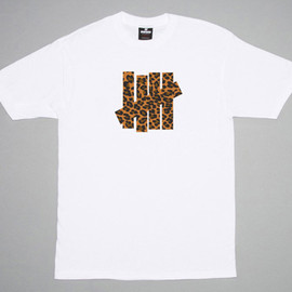 UNDEFEATED, LA MJC - Leopard 5 Strike Tee for All Gone 2011