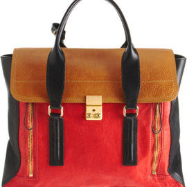 3.1 Phillip Lim - Colorblock Pashli Satchel