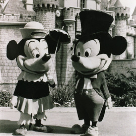 Disneyland - Mickey and Minnie Mouse 1961