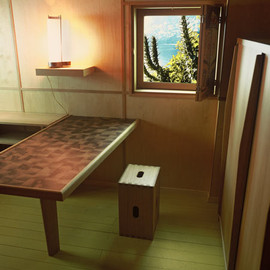 "Le Corbusier - Interior of ""Le Cabanon"", South of France"