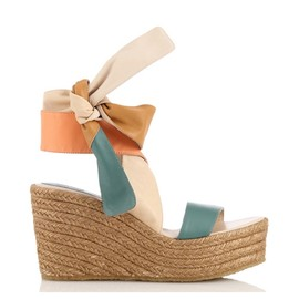 Chloe - MULTI COLOR JUTE SANDAL