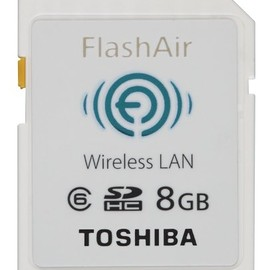 TOSHIBA - FlashAir™ (SD-WL008G)