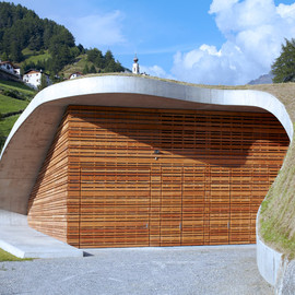 monovolume architecture - Punibach Hydroelectric Power Station